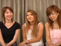 【エロ動画】 【アダルト動画】チンコを見たがる3人組のS級素人御姉さん