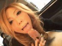 【みな】 【アダルト動画】《下半身軽女GALムービー》ドライブを楽しみながら車内でオーラルセックスチオサービスしてあげる優しい派手娘!!
