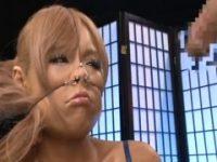 【エッチ動画】 【アダルト動画】《ドMぎゃるムービー》鼻フックで顔面崩壊させられてもフェラチオチオしちゃうエロすぎヘンタイ女★