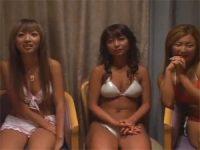 【エッチ動画】 【アダルト動画】チンコを見たがるビキニS級素人GAL達
