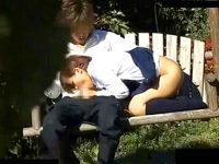 【アダルト動画】 【アダルト動画】《 盗み見movie 》公園でアウトドアSEXする学生おっぱいルを発見⇒茂みに隠れて盗み見したリアル映像。。。
