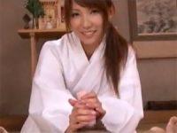 【エロ動画】 【アダルト動画】美女が看護師・巫女コスチュームプレイでオナホールコキ