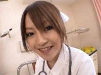 【エッチ動画】 【アダルト動画】病院のWCで患者をフェラチオ抜きしてくれる白衣の天使