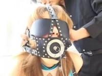 【H動画】 【アダルト動画】《サドマゾ訓練》乳ネッククリップ&顔面監禁具を着けられ奴隷訓練される変質者マゾ女