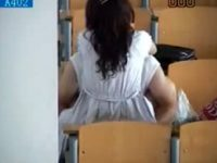 【エロ動画】 【アダルト動画】【学校隠撮動画】大学の講義室で着衣セックスをする韓&#222相互フェラ;人の男女…スマホカメラで隠し撮り&#279相互フェラ;出ww