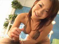 【アダルト動画】 【アダルト動画】スイ乳御姉さんに荒々しくハンドサービスされて爆射