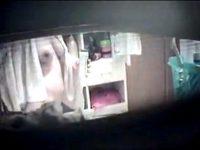 【エロ動画】 【アダルト動画】《 盗み見movie 》脱衣所の窓からパイデカ娘の裸体を盗み見した本物にしか見えない民家盗み見映像☆☆☆☆☆