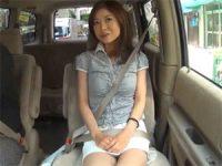 【エッチ動画】 【アダルト動画】バツイチ美女の車内一人エッチ鑑賞