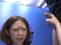 【無料エロ動画】 【アダルト動画】動けない状態にしたドしろーと娘の顔の前でシコっていきなり発射。