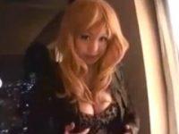 【H動画】 【アダルト動画】《今時ギャルmovie》ヒョウ柄ワンピが淫乱女臭そそるGALが高層ホテルで本気マスターベーション