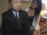 【アダルト動画】 【アダルト動画】スイカップ痴年増秘書がハンドサービスオーラルセックスで白濁液絞り取り
