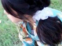 【エッチ動画】 【アダルト動画】【胸チラ隠撮動画】慣れない浴衣で胸元がガバ空きの素人ギャルを花火大会の土手で隠し撮りww