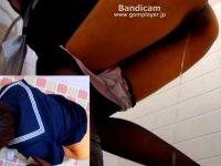 【エロ動画】 【アダルト動画】【おしっこ隠撮動画】大阪の某駅トイレに駆け込む黒パンスト履いた女子校生の立ちション隠しカメラ撮りww
