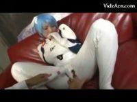 【並木優】 【アダルト動画】並木優 綾波コスプレイヤーでおめこを攻められちゃうコスプレイヤーポルノビデオ