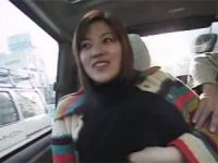 【H動画】 【アダルト動画】S級素人女性が車内でフェラチオ抜き口腔内に精液を放出★