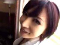 【里美ゆりあ】 【アダルト動画】ショトカが似合いすぎる美GALと高層ホテルでまったり隠し撮りえっち 里美ゆりあ