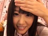 【エッチ動画】 【アダルト動画】通学服を着た激カワチャットガールの自画撮り自慰でソルト