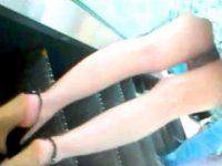 【エロ動画】 【アダルト動画】《 隠し撮りムービー 》エスカレーターできれいな脚ワンピースねえさんを逆さ撮りはみパン隠し撮りしたった★★★★★