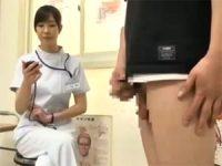 【雨宮琴】 【アダルト動画】雨宮琴音 ED患者のもっこりするまでの時刻を計測しハンドサービス発射させる美麗看護師