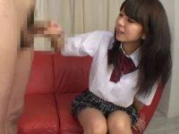 【無料エロ動画】 【アダルト動画】めんこい学生がハンドサービスでシコシコザーメン発射!
