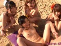 【H動画】 【アダルト動画】ウェルカムフェラチオに始まり生中出し終了まで体験できるパラダイスビーチ!!!