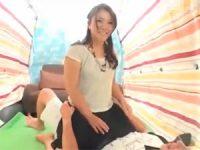 【H動画】 【アダルト動画】入れてるよりも気持ちいい★シロウト娘の初めてのスマタで子種発射★