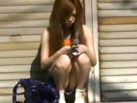 【無料エロ動画】 【アダルト動画】ノーパンS級素人今時ギャルたちのモザイク必須な下半身を覗き見!!!