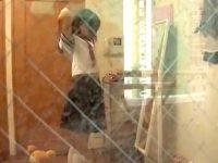 【H動画】 【アダルト動画】《 覗き見ムービー 》JKのマイホーム部屋の窓から着替えとスッポンポンダンスを覗き見したかなり恥ずかしい映像♪♪♪♪♪