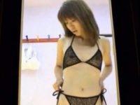 【エロ動画】 【アダルト動画】ちっぱいドしろーとぎゃるがSEXなランジェリー買いにきたので試着室を隠し撮り