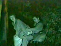【エッチ動画】 【アダルト動画】《 隠し撮りムービー 》屋外SEXスポットに隠し撮りカメラ仕掛けたら中年おっぱいルが大暴れ赤外線映像★★★★★
