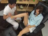 【H動画】 【アダルト動画】足つぼSPA店で感じてしまいパンティを濡らしちゃった姉さん