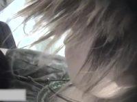 【エッチ動画】 【アダルト動画】胸元が大きく開いた服で接客するショップスタッフの胸チラ&ブラチラ隠し撮り!!前かがみになると乳性感帯まで☆
