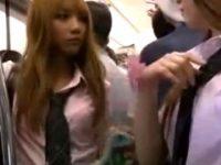 【桜りお】 【アダルト動画】雨に濡れて透けブラするGAL通学服GALがチカンに犯される 桜りお