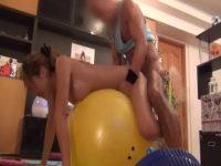 【アダルト動画】 【アダルト動画】エろい師範にバランスボールを使ったえっちをされちゃうお姉様。