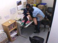 【無料エロ動画】 【アダルト動画】万引きした通学服女子高生を事務所に連れ込み、定点カメラでお叱り襲うを盗み見☆されるがままに犯される☆