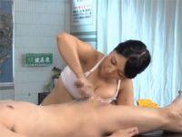 【エッチ動画】 【アダルト動画】ボインサウナレディの密着洗体手淫