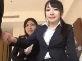 【H動画】 【アダルト動画】初々しさの残る新人女子社員のSEX