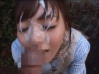 【希志あいの】 【アダルト動画】カレシにお願いされ露天でオーラルセックスしぶっかけされるザー汁を顔面でふんだんに浴びる白GAL 希志あいの