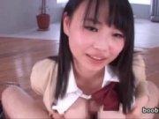 【アダルト動画】 【アダルト動画】爆乳な女子校生が自分でチンコを包み込んでの乳交奉仕!