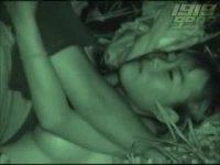 【エロ動画】 【アダルト動画】深夜の公園でHしちゃう青姦カップルを赤外線カメラで盗み見!!巨乳のぎゃるがピストン運動に顔を歪め感じてます!!