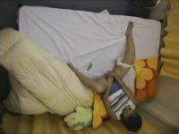 【エッチ動画】 【アダルト動画】寝室天井に仕掛けたカメラで手技やオモチャでマスターベーションする美女女子アルバイターの姿をこっそり隠し撮りしちゃいました☆