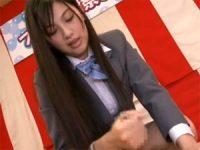 【原紗央莉】 【アダルト動画】原紗央莉がファン男性を手淫抜き!!