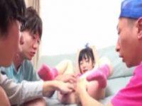 【無料エロ動画】 【アダルト動画】エロ本をお手本にし同級生がパイパン貧乳ロリの体を使って性教育のお勉強。セックス漬けになるJS