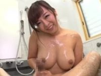 【KAORI】 【アダルト動画】お浴室でチ○ポサロン 受精したがるムチムチエロ妻!!KAORI