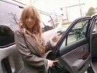 【アダルト動画】 【アダルト動画】社長秘書に雇った今時ギャルと移動中の車でイチャイチャ★★★★