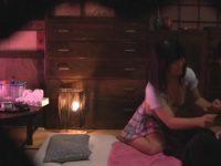 【エロ動画】 【アダルト動画】某遊廓で巨乳なぽちゃ系年増のエロ奉仕を隠し撮り!!クンニリングスやぺろぺろでprpr回しし、禁止なはずのHSEXまで!!