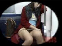 【無料エロ動画】 【アダルト動画】《 覗き見movie 》列車内の対面はみパン!居眠りしてるミニスカねえさんのおぱんちゅが丸見えでそそるするぞぉ☆☆☆