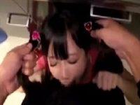 【エロ動画】 【アダルト動画】家の中に入ってきた変質者にランドセルを背負ったJSが連続でイラマチオされ泣きながら絶叫するも喉の奥に精液を注がれる