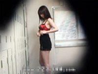 【エッチ動画】 【アダルト動画】【着替え隠撮動画】ポリスコスプレに着替えるスタイル良い女性を更衣室で隠しカメラ撮りww