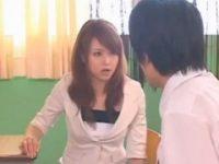 【吉沢明歩】 【アダルト動画】G行為という言葉や行為の意味が分からない少年生徒にぐうかわ教師がレクチャー。吉沢明歩
